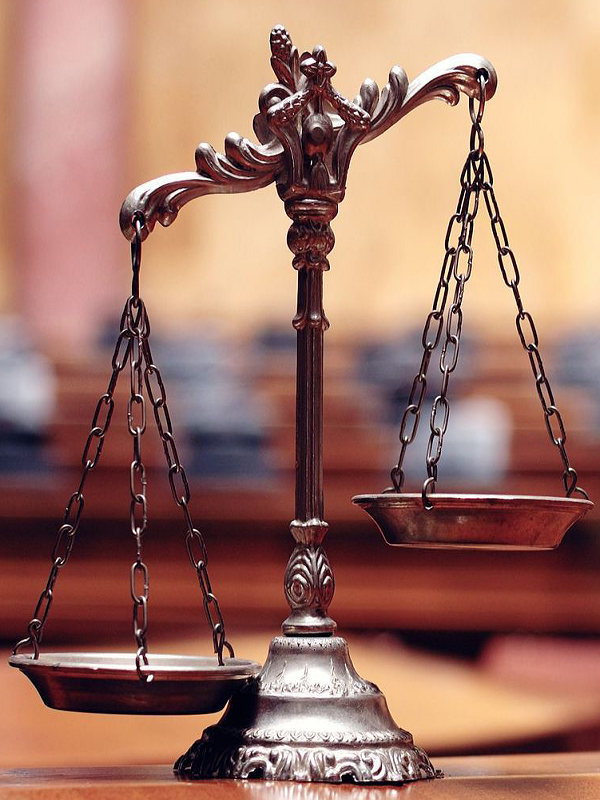 Icon of legal gavel